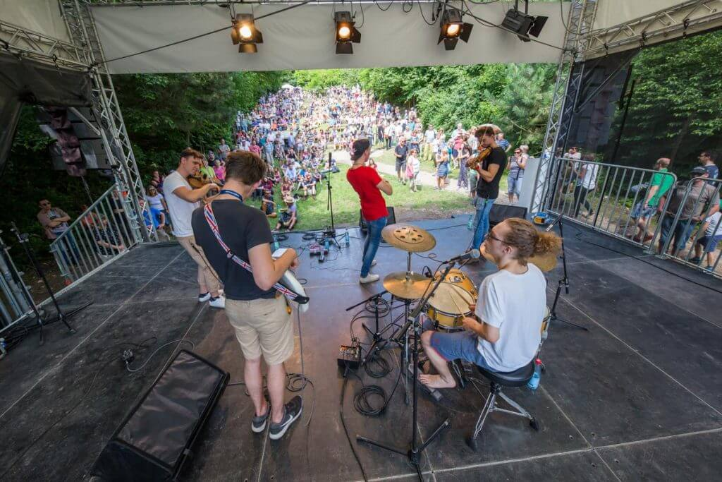 Hörfest am Kaliberg - Livemusik | Klangspiele | Kinderaktionen